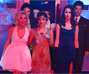 pll, emily, and spencer image