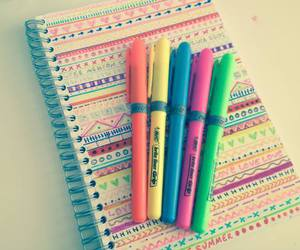 notebook and draw image