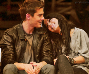 zac efron, zanessa, and love image