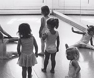 ballerina, children, and class image