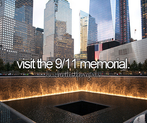 memorial and bucket list image