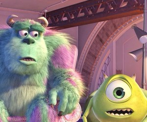 disney, monster, and sully image