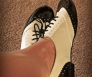adorable, oxford shoes, and love image