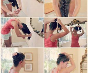 Örgülü topuz modelleri, Örgülü saç modelleri, and Örgülü saç yapımı image