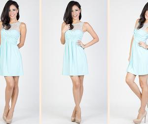 cute dress, dresses, and fashion image