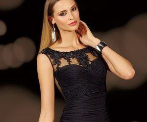 prom dress, short dress, and homecoming dress image