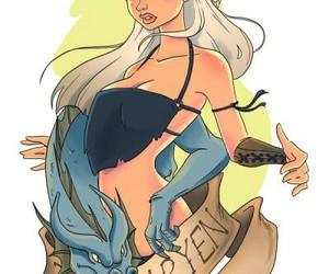 game of thrones, daenerys, and targaryen image