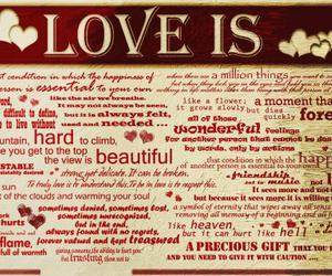 hearts, is, and text image