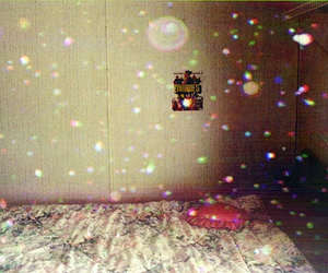 bedroom, sparkle, and glitter image