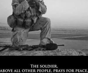 fight, military, and sadness image