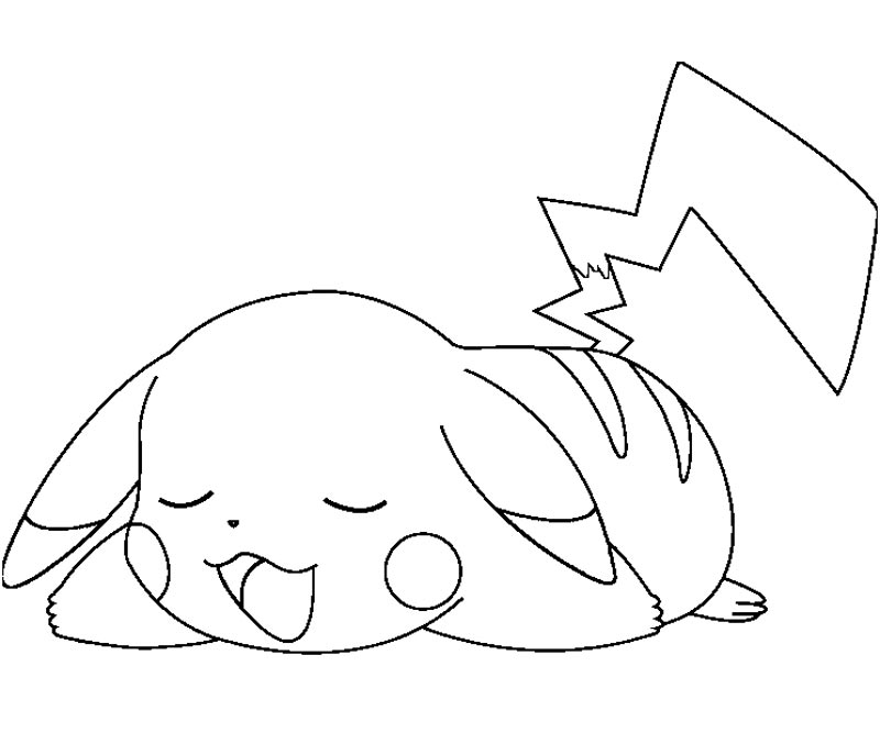 Cute Pikachu Coloring Pages Enjoy Coloring On We Heart It