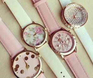 watch, fashion, and pink image