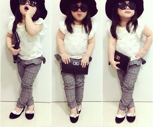baby, beauty, and fasion image