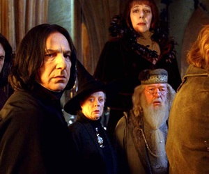 dumbledore, moody, and mcgonagall image