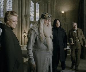 dumbledore, igor, and mcgonagall image