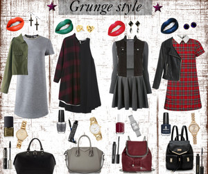 grunge, grunge style, and outfits image