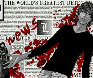 death note and kira image