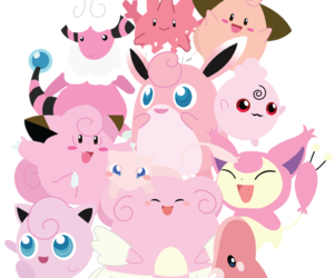kawaii, pokemon, and rosa image