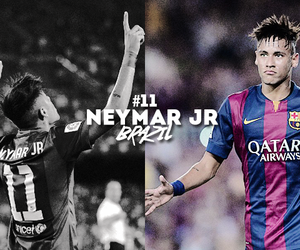 Barcelona, football, and neymar image
