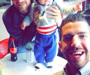 theo horan, greg horan, and baby image