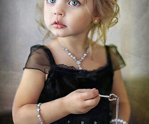 black dress, gorgeous, and jewelry image