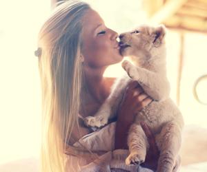 kiss, lion, and andrea badendyck image