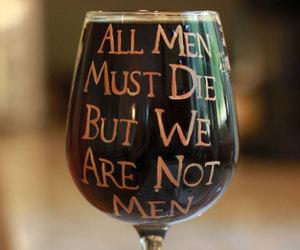 etsy, wine glass, and daenerys image