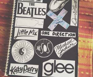 glee, one direction, and the beatles image