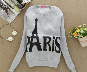 paris, pink, and sweater image