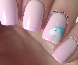 girl, pink, and unicorns image