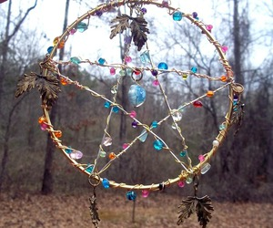 wicca and pentacle image
