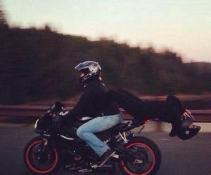 boy, moto, and couple image