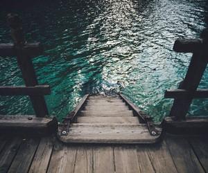 beautiful, blue, and lake image