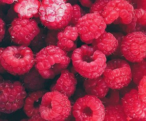 fruit, raspberry, and food image