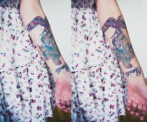 aquarel, arm, and arm tattoo image