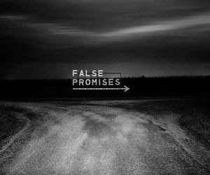 promise, false, and quotes image