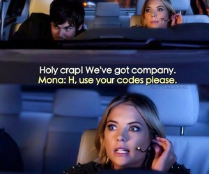 pretty little liars, funny, and pll image