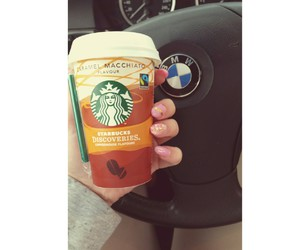 auto, car, and starbucks image