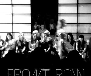 black and white, fashion, and fashion week image