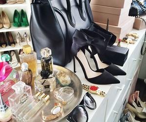 girly, heels, and perfume image