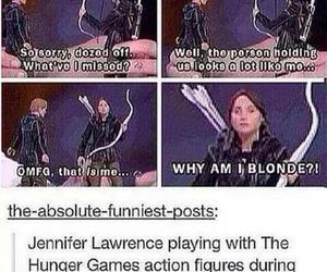 funny, Jennifer Lawrence, and thg image