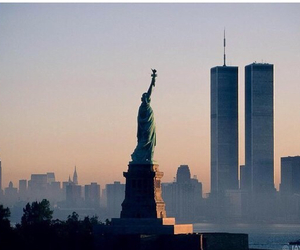 nyc, new york, and twin towers image
