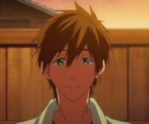 anime, smile, and makoto tachibana image