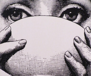 eyes, art, and bowl image