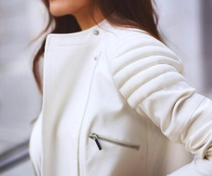 fashion, white, and jacket image