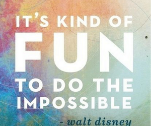 quote, fun, and impossible image