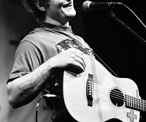 ed sheeran, singer, and guitar image