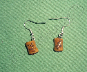 earrings, fimo, and polymer clay image