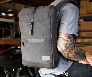 backpack and grey image