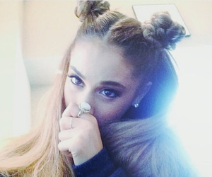 ariana grande, arianagrande, and hair image